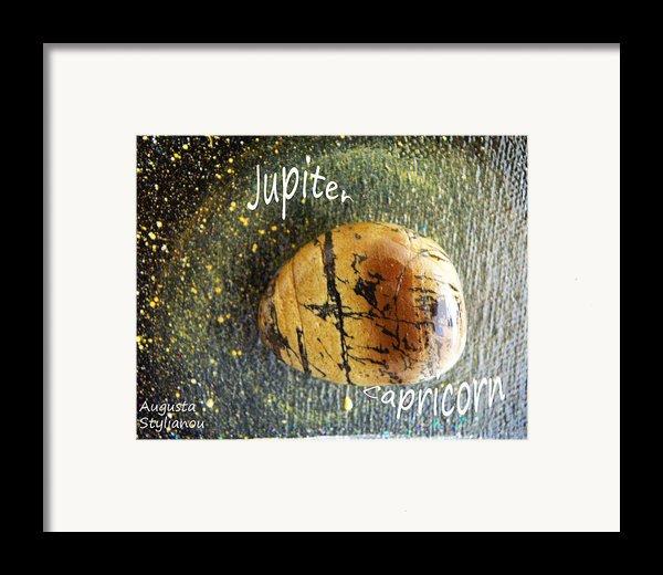 Barack Obama Jupiter Framed Print By Augusta Stylianou