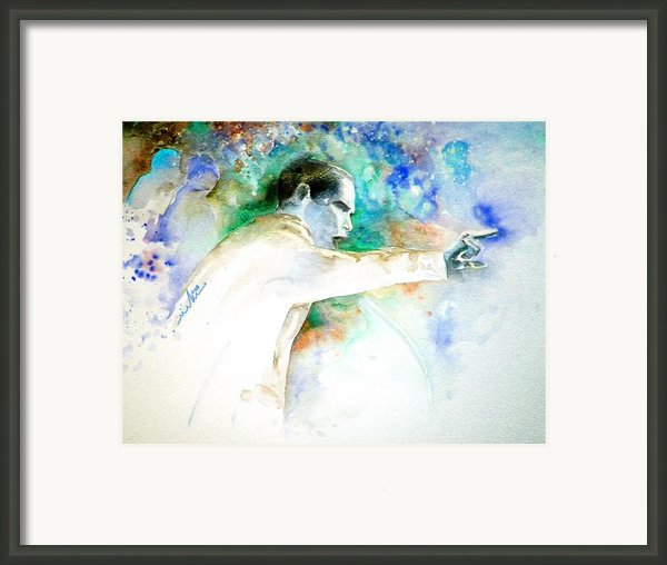 Barack Obama Pointing At You Framed Print By Miki De Goodaboom