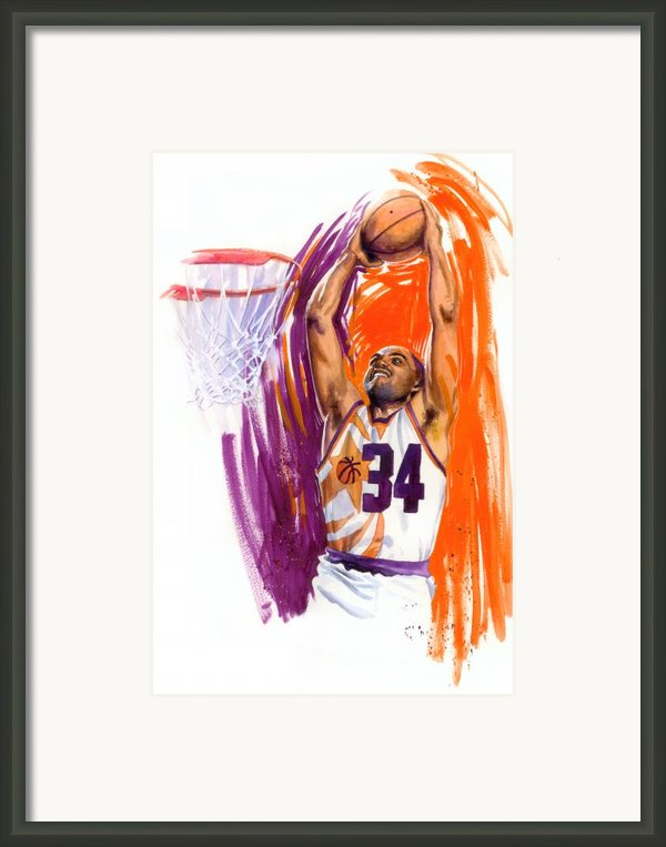 Barkley Framed Print By Ken Meyer Jr