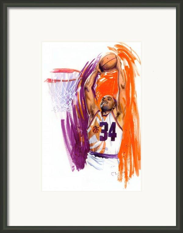 Barkley Framed Print By Ken Meyer Jr