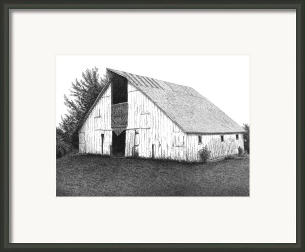Barn 16 Framed Print By Joel Lueck