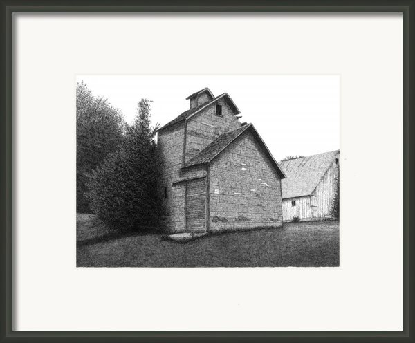 Barn 18 Framed Print By Joel Lueck