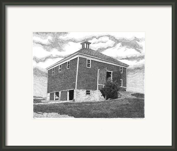 Barn 7 Framed Print By Joel Lueck