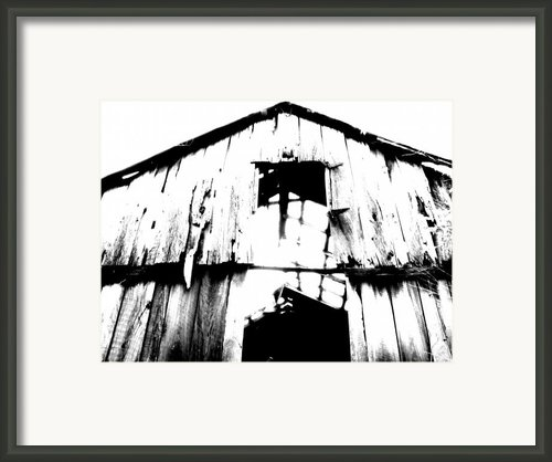 Barn Framed Print By Amanda Barcon