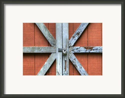 Barn Door 1 Framed Print By Dustin K Ryan