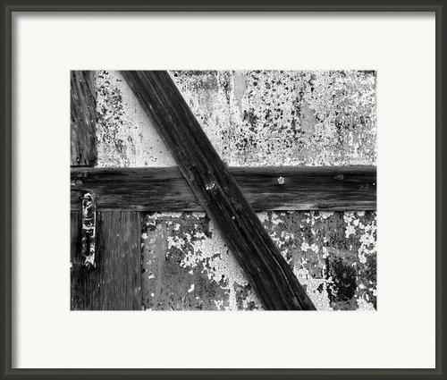 Barn Door Framed Print By Christian Slanec