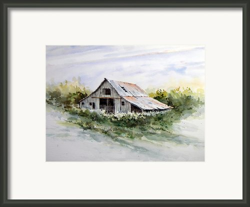 Barn Framed Print By Sam Sidders