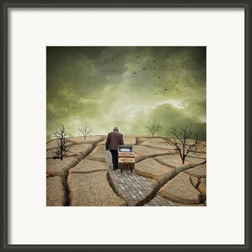 Barrow Man Framed Print By Ian Barber