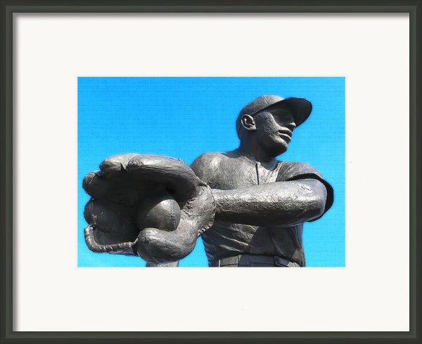 Baseball - Americas Pastime Framed Print By Bill Cannon