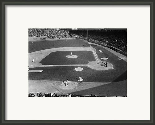 Baseball Game, 1967 Framed Print By Granger