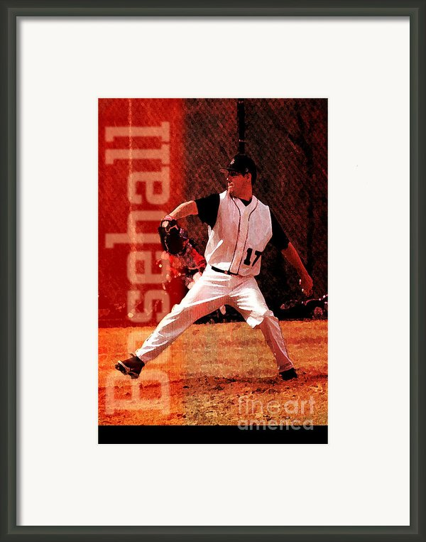 Baseball Framed Print By John Turek