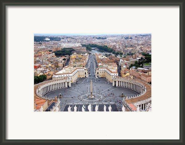 Basilica Di San Pietro Framed Print By Deborah Lynn Guber