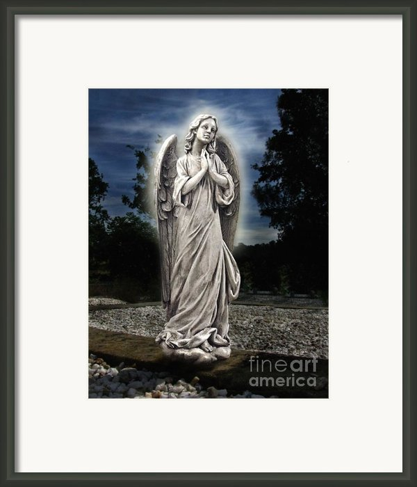 Bask In His Glory Framed Print By Peter Piatt
