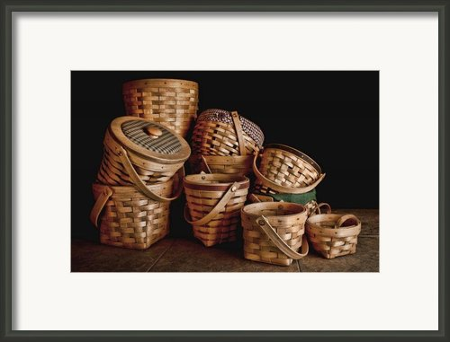 Basket Still Life 01 Framed Print By Tom Mc Nemar