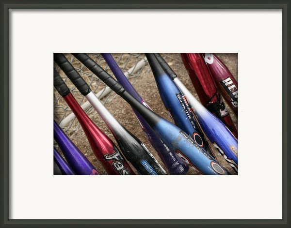 Bat Collection Framed Print By Kelley King