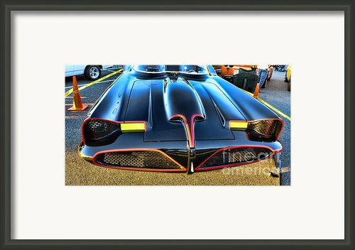 Batmobile - 2 Framed Print By Paul Ward