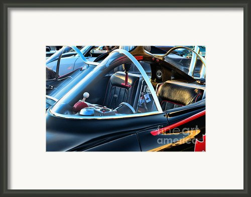 Batmobile - 4 Framed Print By Paul Ward