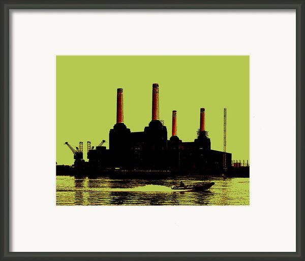 Battersea Power Station London Framed Print By Jasna Buncic