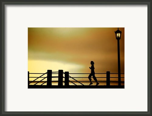 Battery Days Framed Print By Patrick Biestman