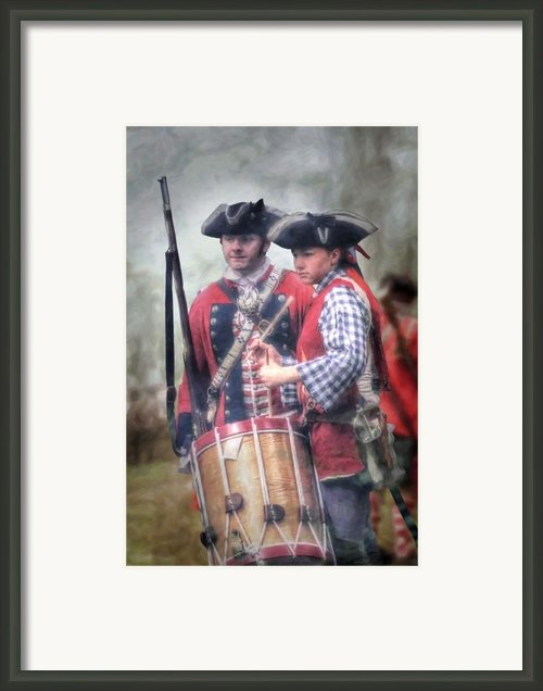 Battle Drums Framed Print By Randy Steele