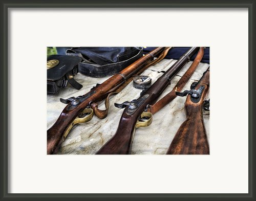 Battle Gear Framed Print By Peter Chilelli