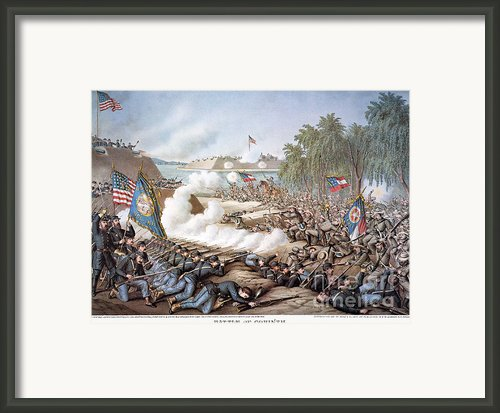 Battle Of Corinth, 1862 Framed Print By Granger