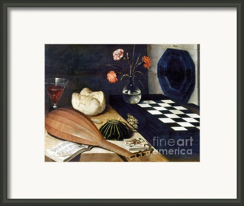 Baugin: Still Life Framed Print By Granger