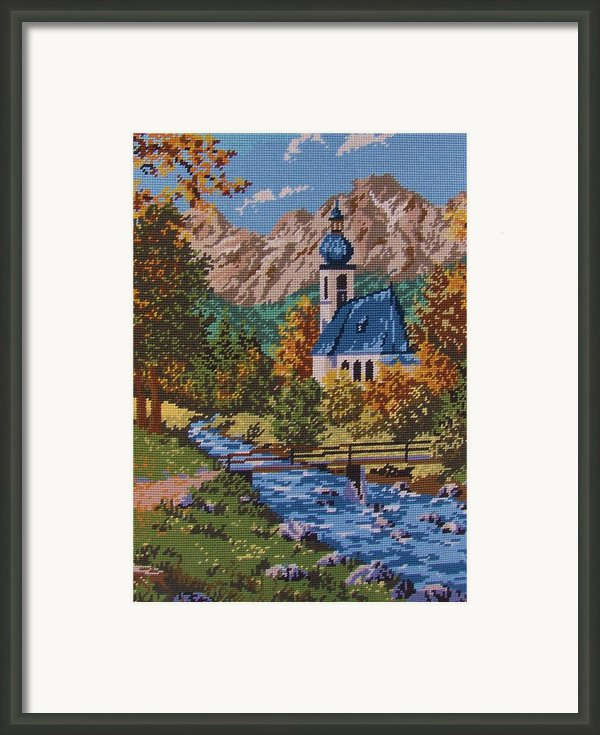 Bavarian Country Framed Print By M And L Creations Art Craft Boutique