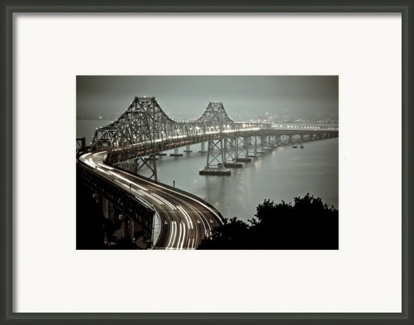Bay Bridge Framed Print By Stefan Baeurle
