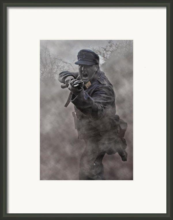 Bayonet Warrior Framed Print By Mark H Roberts