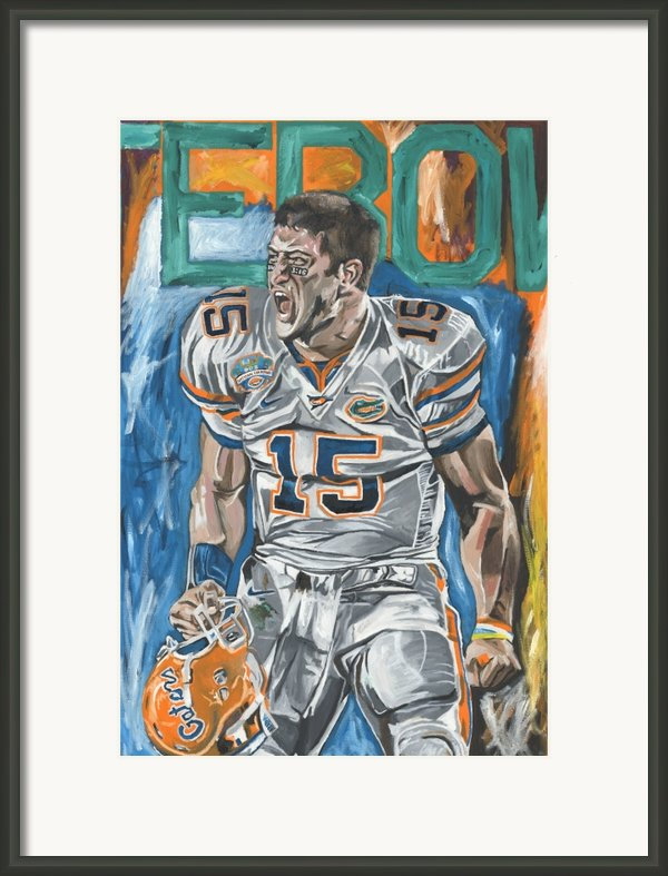 Bcs Champions Framed Print By David Courson