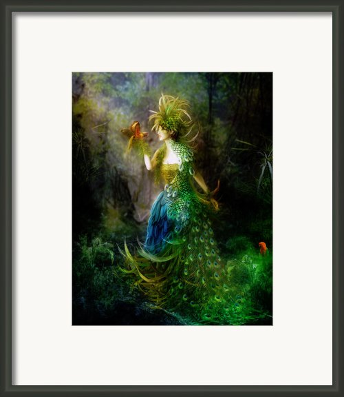 Be Free Little One Be Free Framed Print By Karen Koski