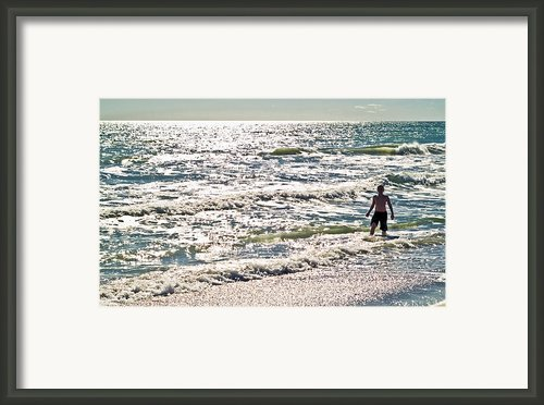 Beach Adventure Framed Print By Patrick M Lynch