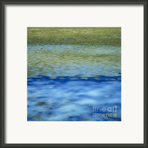 Beach And Sea Framed Print By Bernard Jaubert