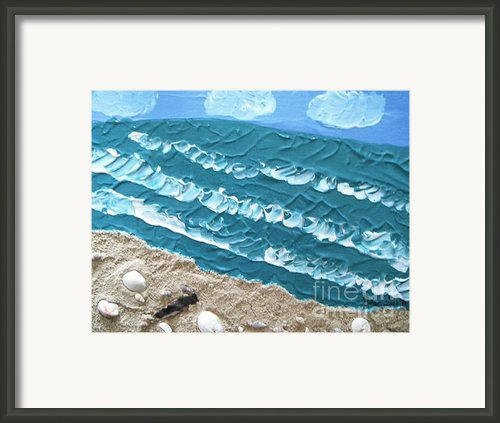 Beach Jewels Framed Print By Jeannie Atwater Jordan Allen