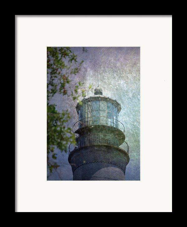 Beacon Of Hope Framed Print By Judy Hall-folde