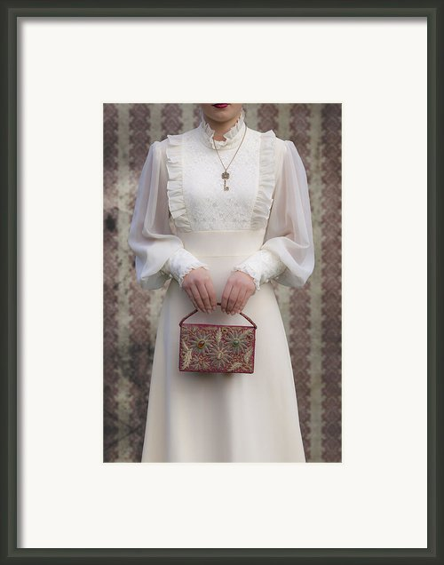 Beaded Handbag Framed Print By Joana Kruse