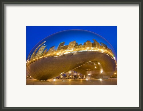 Bean Reflections Framed Print By Donald Schwartz