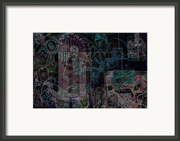 Bean Town V3 Framed Print By Jimi Bush