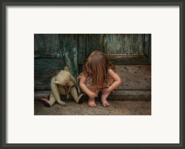 Bear Feet Framed Print By Robin-lee Vieira