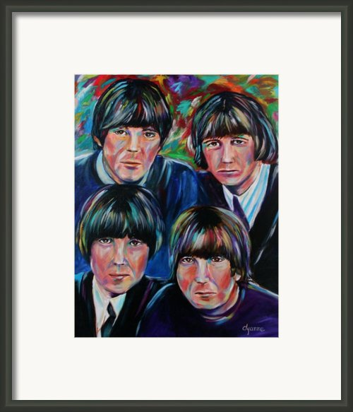 Beatles Framed Print By Dyanne Parker