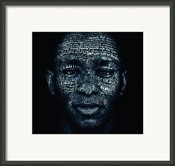 Beautiful Boogieman Framed Print By Cris  Wicks