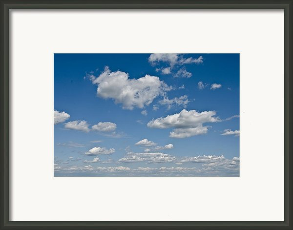 Beautiful Skies Framed Print By Bill Cannon