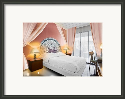 Bedroom Interior Framed Print By Setsiri Silapasuwanchai