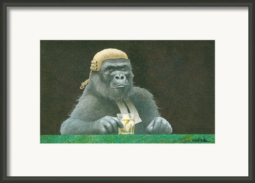 Before The Bar... Framed Print By Will Bullas