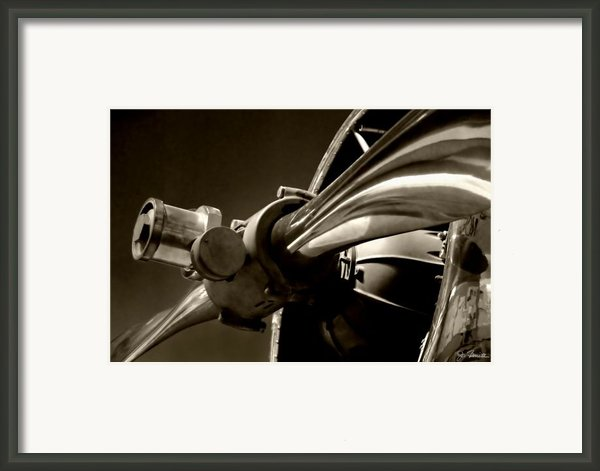 Before The Jets No. 1 Framed Print By Joe Bonita