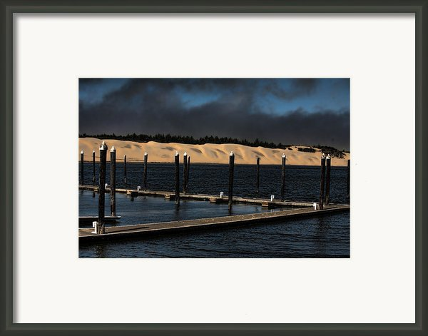 Before The Storm Framed Print By Bonnie Bruno