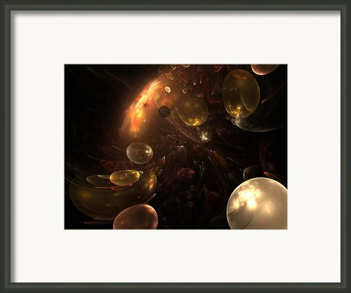 Behind The Curtain Framed Print By Stefan Kuhn