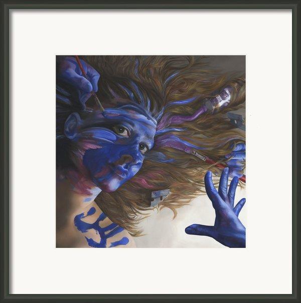 Being Art Framed Print By Katherine Howard