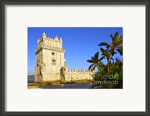 Belem Tower Framed Print By Carlos Caetano